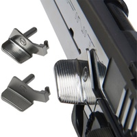 VP Stainless Steel Thumb Rest Slide Stop