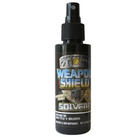 Weapon Shield's Solvent 4 oz Bottle with Sprayer