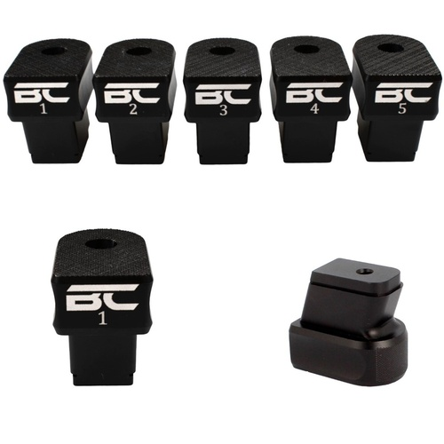 BC - CZ Shadow 2 Aluminium Plus Zero Extended Magazine Base Set of Five