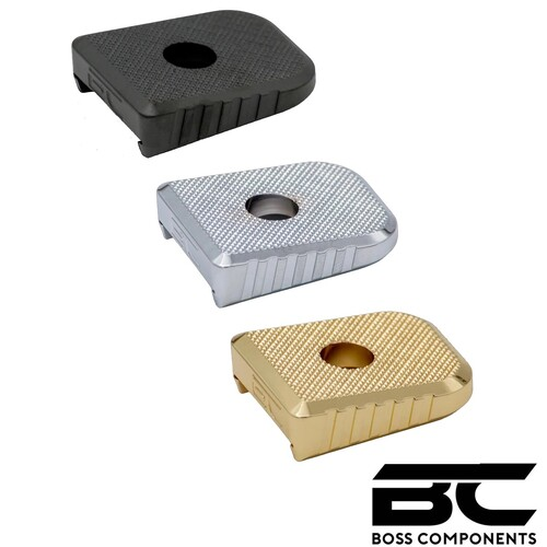 BC 2011/BUL Brass Magazine Base Set of Five - Standard  Division