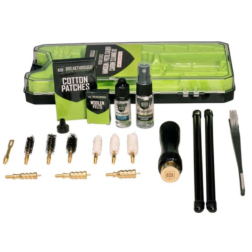BREAKTHROUGH Vision Series Multi-Calibre Handgun/Pistol Calibre Carbine Cleaning Kit